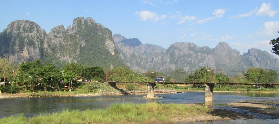 Villa Vang Vieng Riverside Mountains